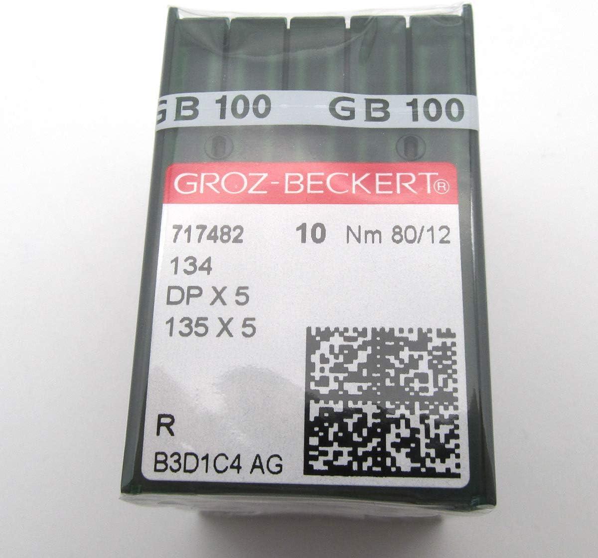 GROZ-BECKERT Aiguille /à coudre 100 GROZ-BECKERT 135 x 5 DPX5 Plusieurs tailles DPX5 21//130