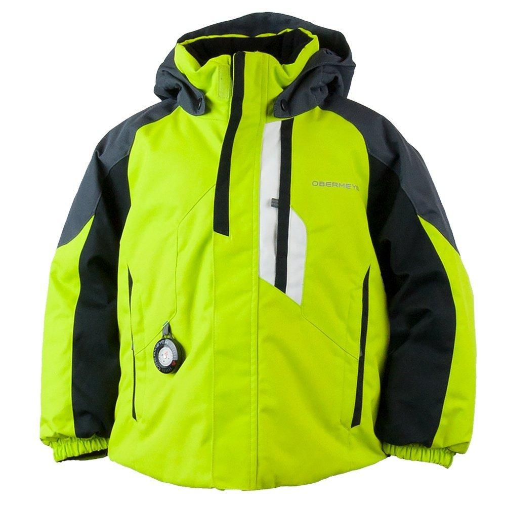 Obermeyer Kids Baby Boy's Meteor Jacket (Toddler/Little Kids/Big Kids) Green Flash 7