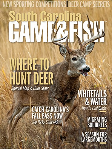 South carolina game fish magazine from 19 compare 24 for Game and fish magazine