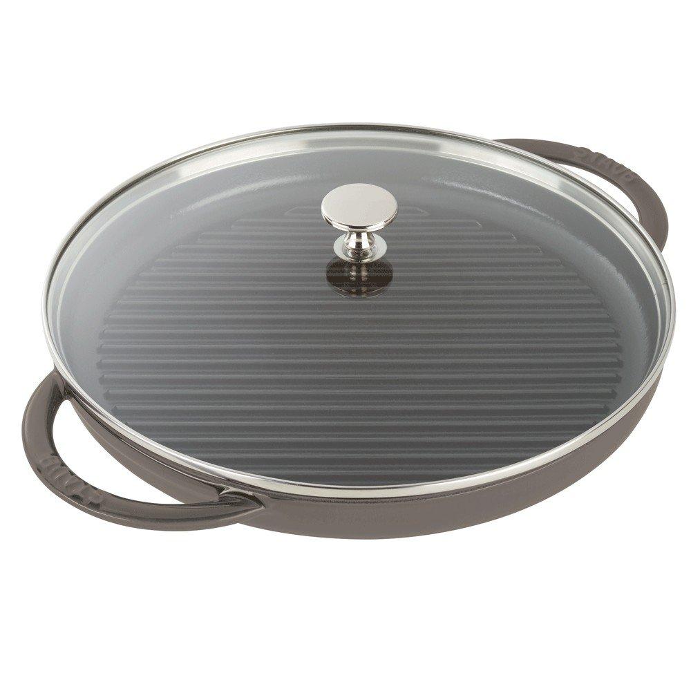 Staub Steam Grill, Graphite Grey, 12 - Graphite Grey by Staub (Image #1)
