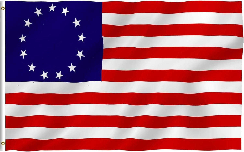 Heritage Betsy Ross-Americana Historic Garden Yard Banner House Flag