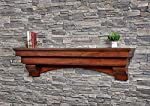 Salem Fireplace Mantel Shelf by Mantels Direct