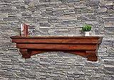 72 inch fireplace mantel shelf - Salem 72 Inch Fireplace Mantel - Aged Cherry