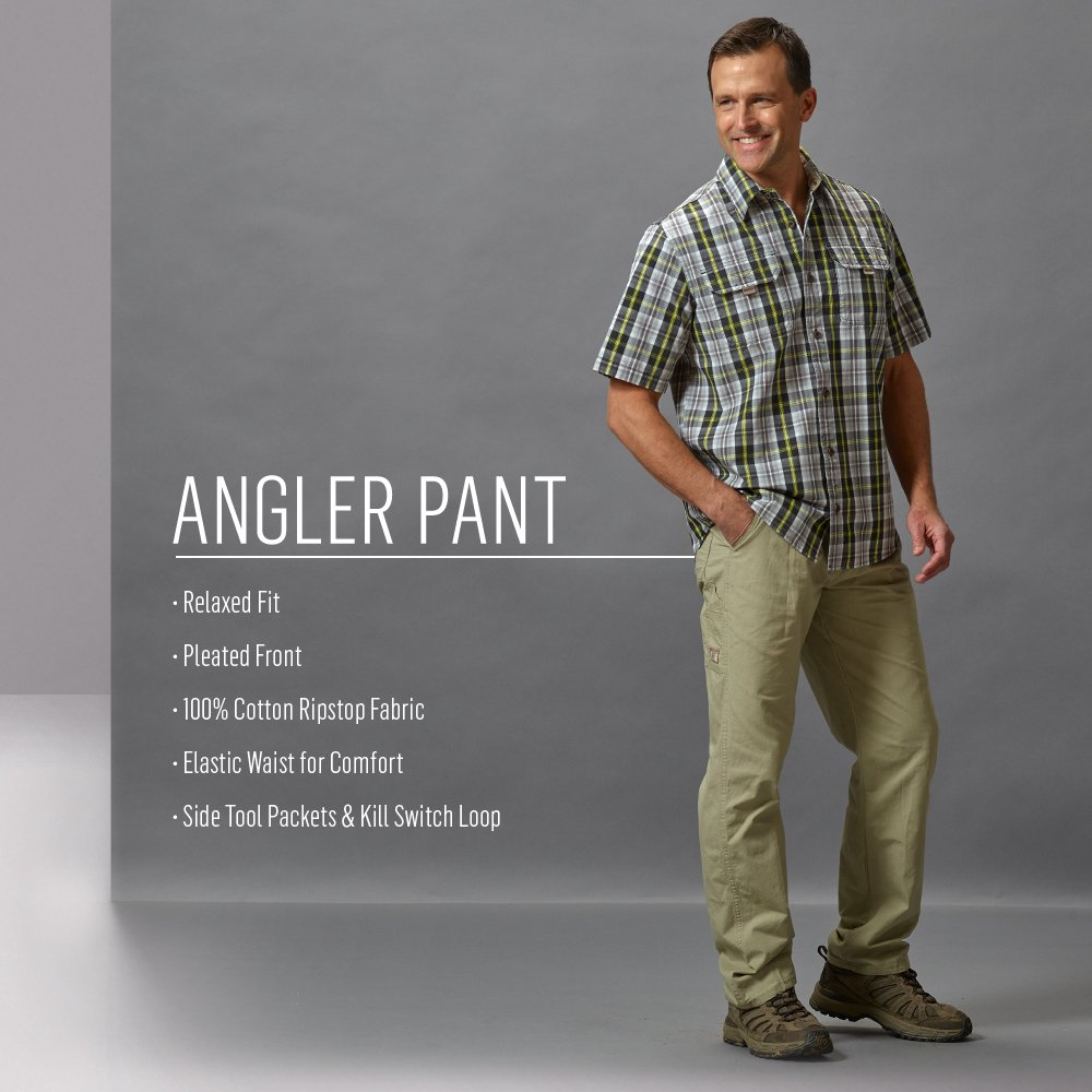 Wrangler Rugged Wear Mens Big /& Tall Angler Relaxed-Fit Jean