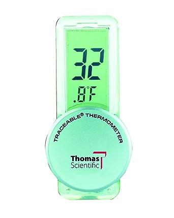 """Thomas 4157 Econo traceable frigorífico termómetro con 1/2 """"pantalla de alta LCD"""