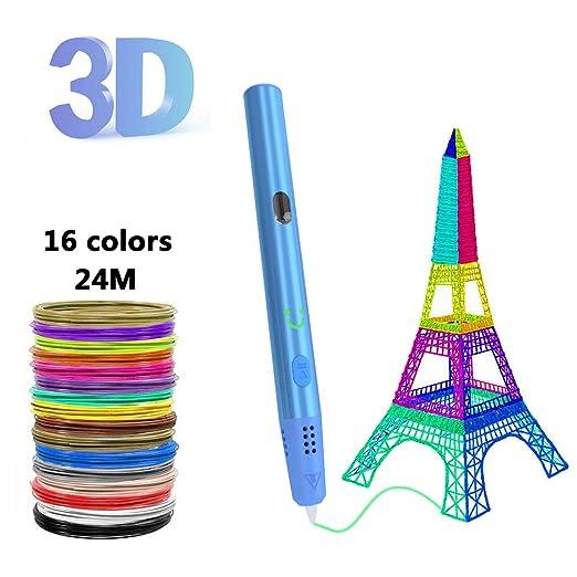 MIAO. Bolígrafo de impresión 3D: bolígrafo de Dibujo de Impresora ...