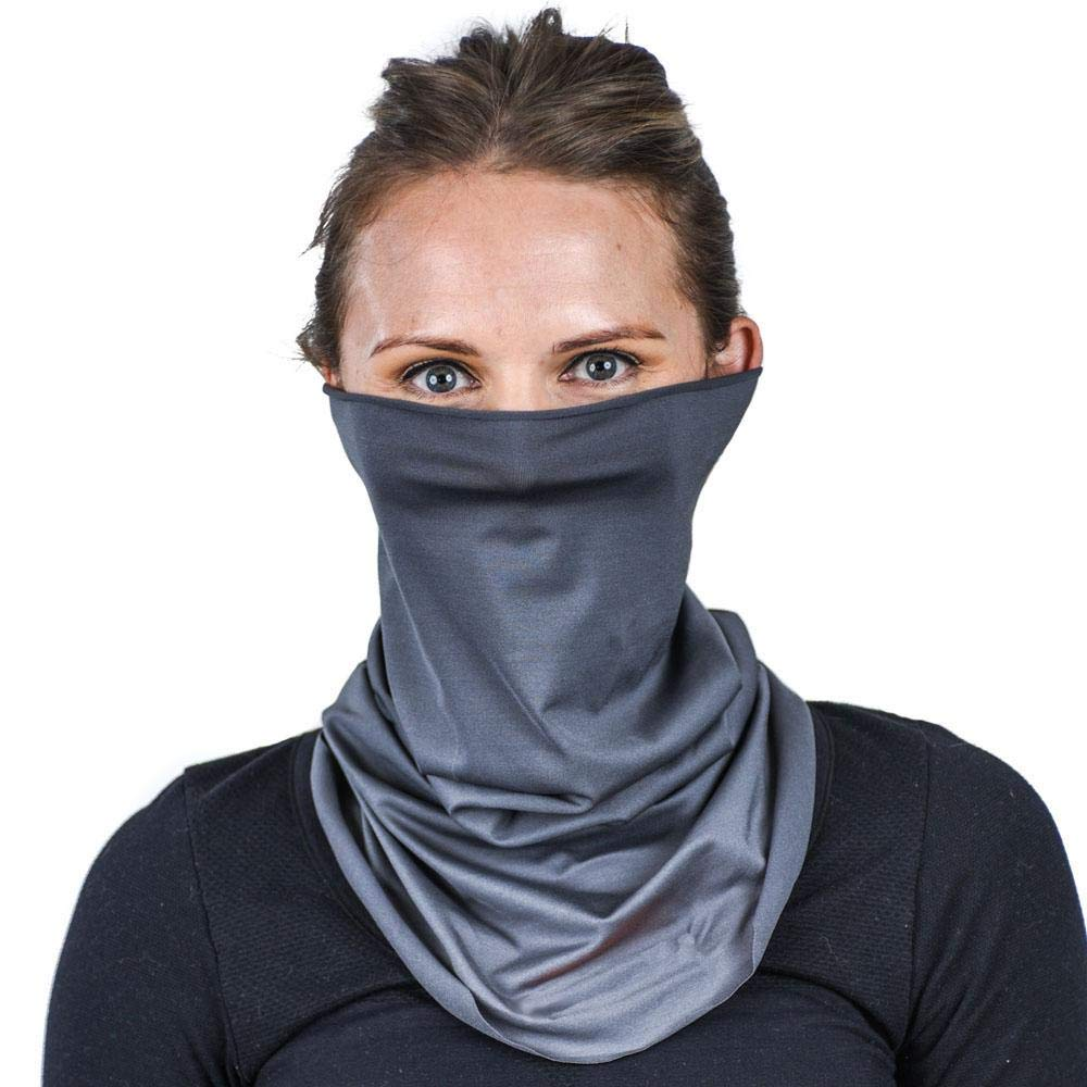 Adustable Neck Gaiter for Maximum UPF Sun Protection | Sheer and Cooling by eclipse sun sleeves