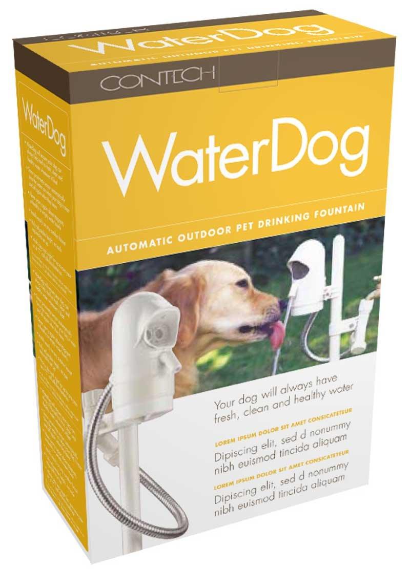 WaterDog Pet Fountain - automatische Hundetränke mit Sensor: Amazon ...