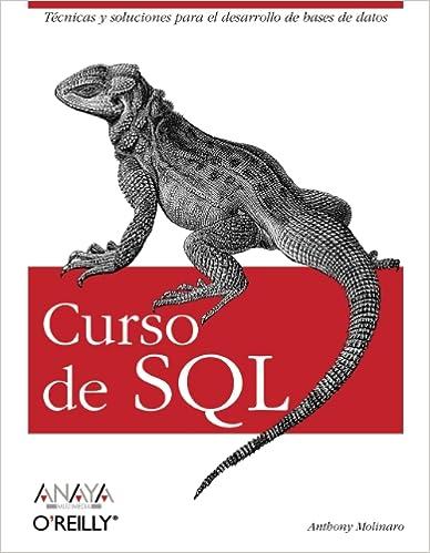 Curso de SQL (Anaya Multimedia/O¿Reilly)