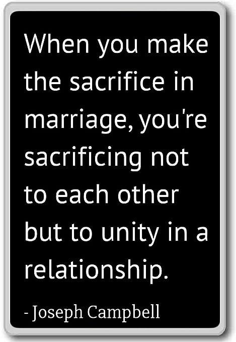 Amazon.com: When you make the sacrifice in marriage, yo ...