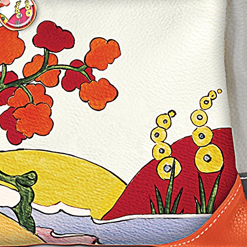Colour art Clarice design due vibrant from The incredible functional Bradford and and patterns Exchange deco its exclusively stylish with Inspired Cliff Tri colour Handbag to HCTxCnt