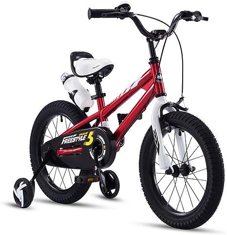 Los niños en Bicicleta niño niña Bicicleta 2-4-6-7 años de Edad Bicicleta niño niña Bicicleta Deportiva con Rueda de Entrenamiento: Amazon.es: Deportes y aire libre