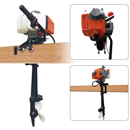 Amazon com : GDAE10 Seahorse Outboard Motor, 4 HP 2 Stroke