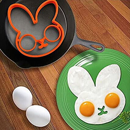 Rabbit Silicon Mold Egg Ring Cooking Fried Egg Tools Kitchen Gadgets ...