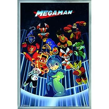 Trends International Mega Man - Group Wall Poster 24.25