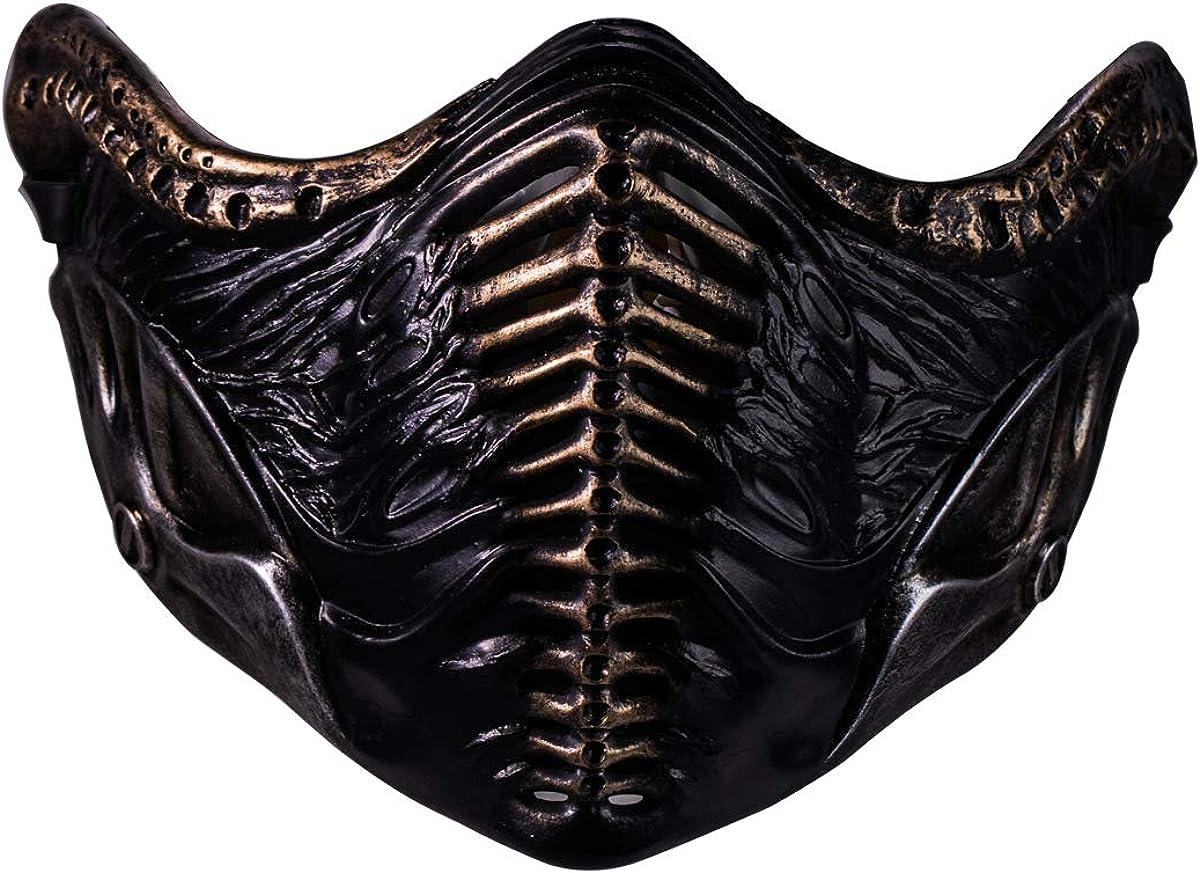 Amazon Com Noob Saibot Mask Mortal Kombat 11 Cosplay Costume