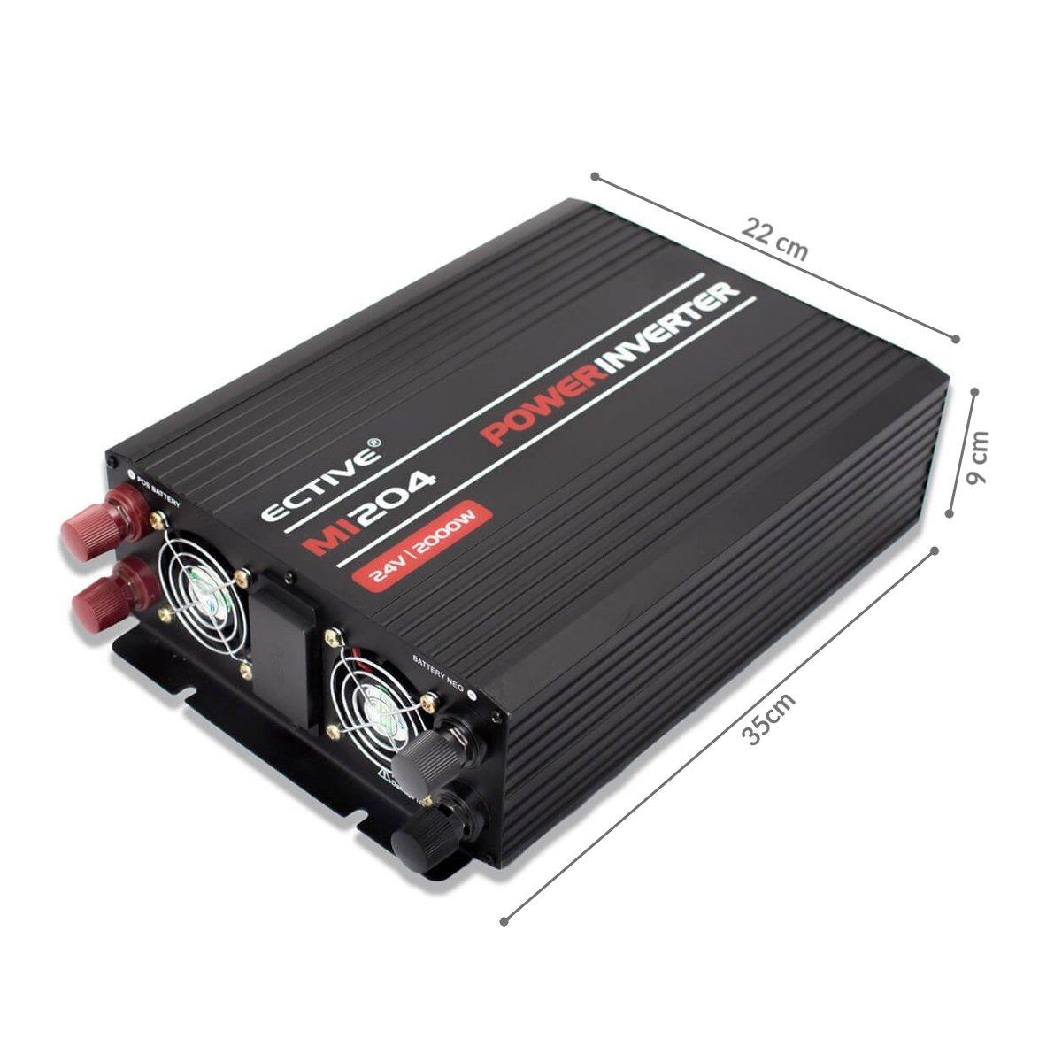 3000W ECTIVE MI-Serie Wechselrichter 1500W mit modifizierter Sinuswelle 48V zu 230V in 4 Varianten 300W