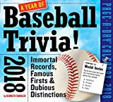 A Year of Baseball Trivia! Page-A-Day Calendar 2018