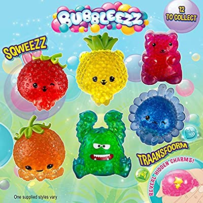 Bubbleezz Jumbo 55196 Bubbleez Ula Purrycorn Figure, Polka-Dotted, red, One Size: Toys & Games