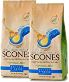 Sticky Fingers Scone Mix (Pack of 2) 1 lb Bags – All Natural Scone Baking Mix (Original)