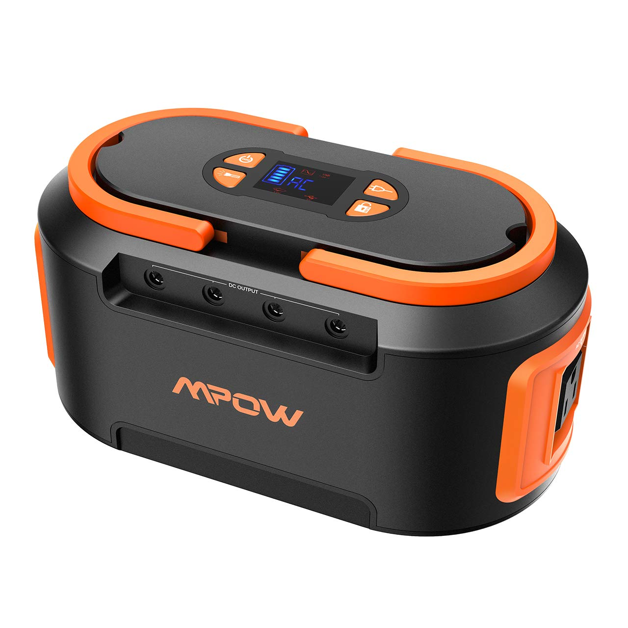 Mpow 222Wh 60000mAh Portable Solar Generator, Power Station Generator with AC Outlets, 4 DC Ports, 4 USB (Quick Charger 3.0, USB C) Lithium Battery Backup for Emergence Travel Home Camping