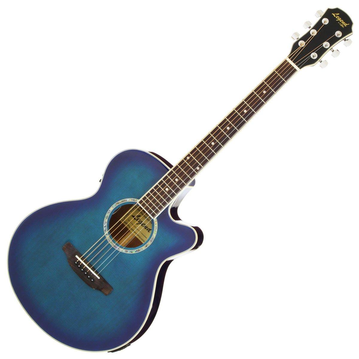 Legend レジェンド エレアコギター ブルーシェード ソフトケース付 FCO-STD BLS  BLS B00O8L5PC0