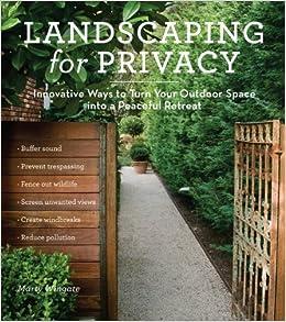 landscaping privacy innovative