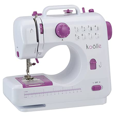 Portable Sewing Machine With 40 Coloured Thread Spools 40 Coloured Awesome Sew Lite Sewing Machine Review