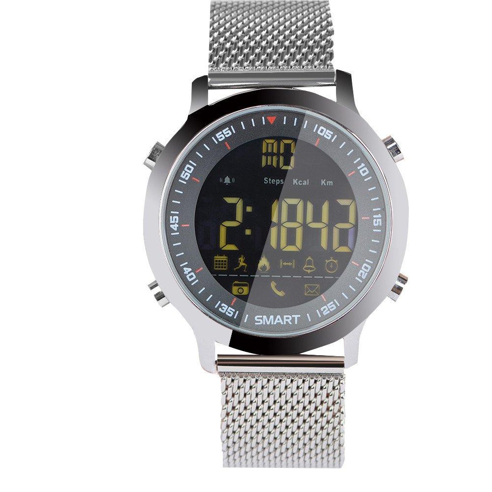 Amazon.com: Star_wuvi EX18 Smart Sports Bluetooth Watch 5ATM ...
