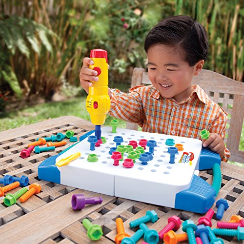Educational Insights Design and Drill Take Along Toolkit - Building Toy Construction Set | Educational Toys Expert