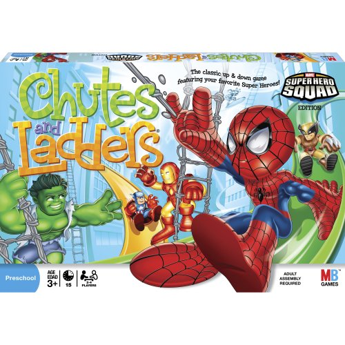 Chutes and Ladders Super Hero Squad image