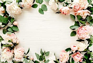 Amazon Com Leyiyi 10x8ft Spring Flowers On Wooden Board Backdrop Romantic Wedding Banner Pink Flower Blossom Floral Petals Blank Wood Table Photo Background Kids Birthday Marriage Portrait Studio Vinyl Prop Camera