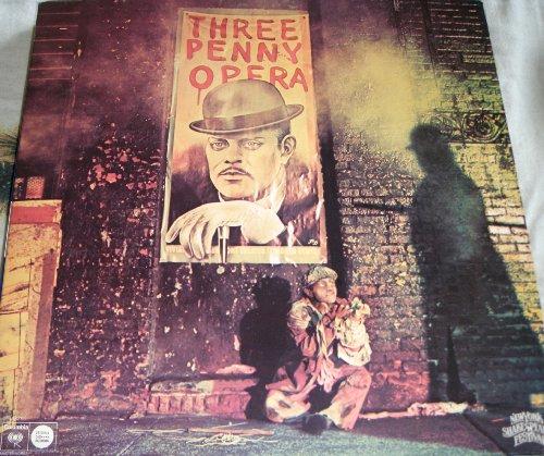 """THREEPENNY OPERA""1976 REVIVAL CAST LP."