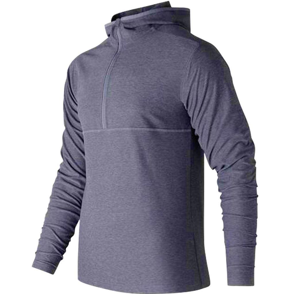 New Balance 2018 Herren Space Dye Sport Pullover Hoodie