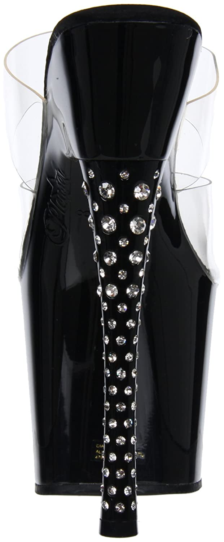 0f8ef0e3e1d Pleaser Women s Diamond-702 C B Platform Sandal  Amazon.co.uk  Shoes   Bags