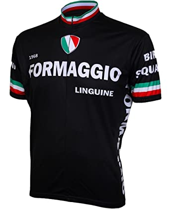 Amazon.com  Formaggio 1968 Retro Mens Cycling Jersey Bike Bicycle ... 5a4f68d38