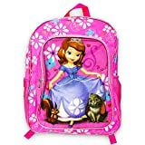 Disney Girls' Sofia The First Backpack with Super Lights, PURPLE