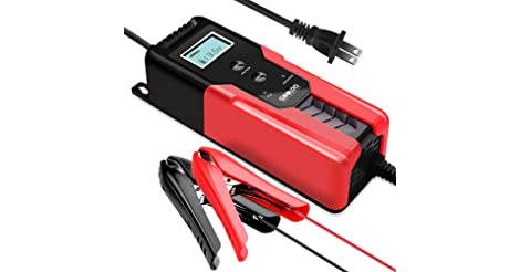 Gooloo 6/12V 6A Smart Battery Charger and Maintainer only $23.39