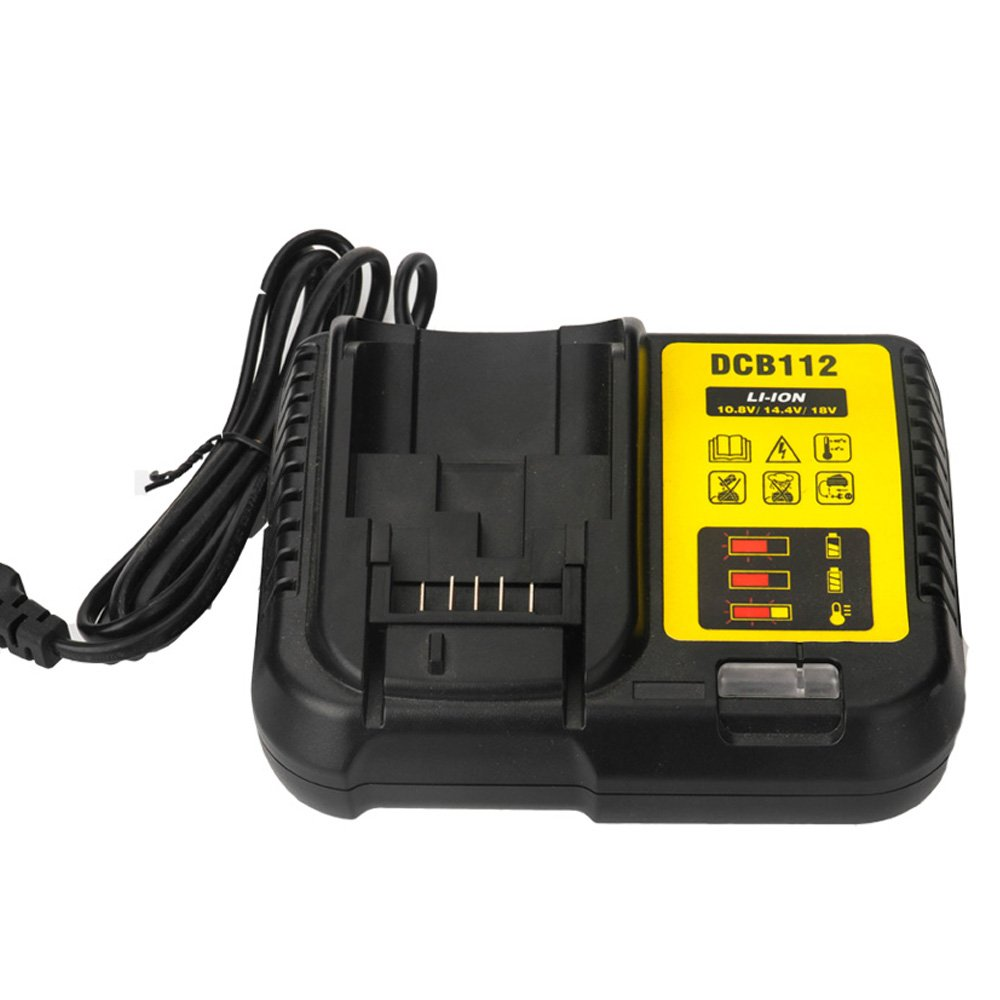 LaiPuDuo For battery charger Dewalt DCB112 lithium ion 10.8V 12V 14.4V 18V DCB101 DCB200 DCB140 DCB105 DCB200 Shenzhen Chengxinqi Co.Ltd