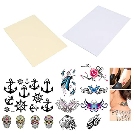 picture regarding Printable Tattoos referred to as BENECREAT 20 Sheets (10 Pack) Do it yourself A4 Short term Tattoo