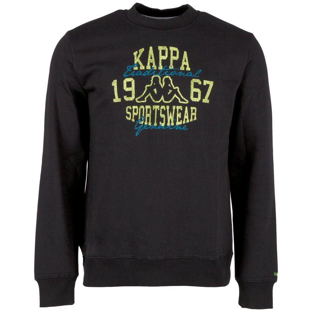 Kappa - Sudadera Atoll RN, Hombre, Atoll RN, Negro (005 Black), Small: Amazon.es: Deportes y aire libre