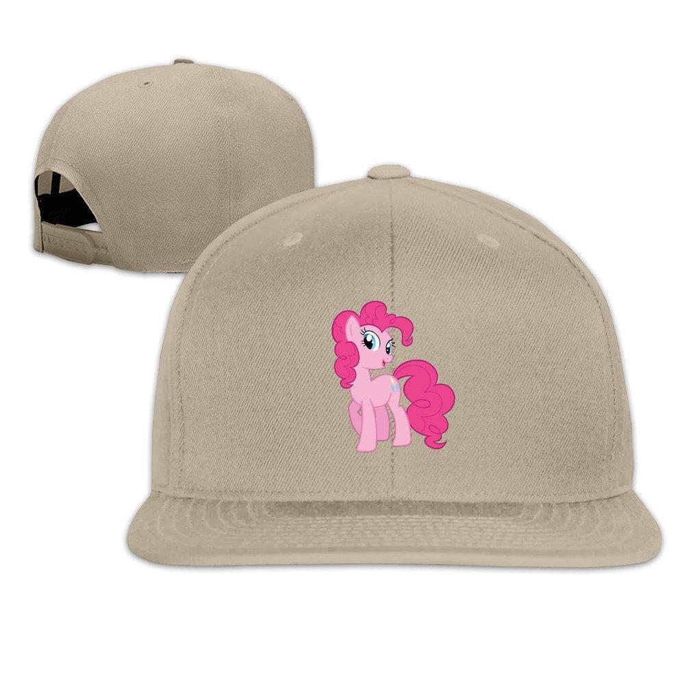 Beetful My Little Pony Logo Plain Adjustable Snapback Hats Caps