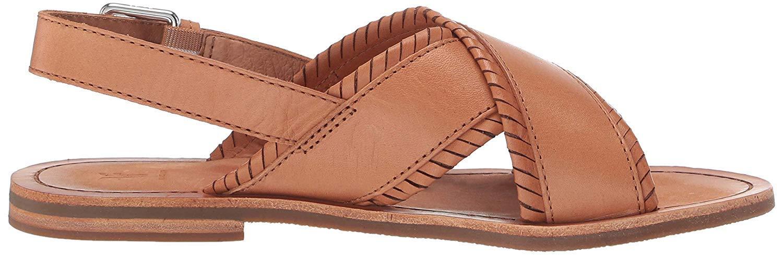 Frye Women S Robin Feather Criss Cross Flat Sandal