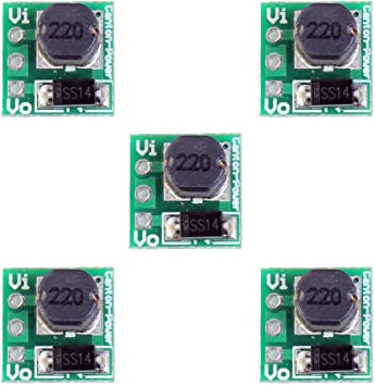 10Pcs DC-DC 3V//3.3V//3.7V//4.2V to 5V 2A USB Step Up Power Module Boost Converter