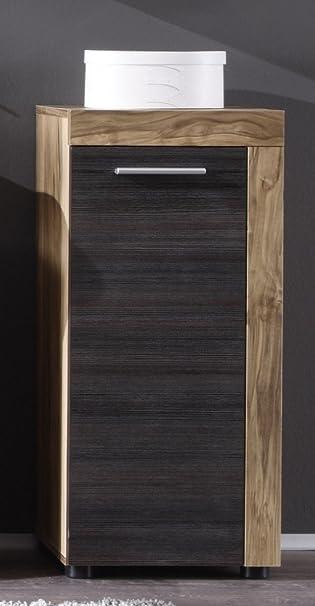 Badezimmermöbel Dunkelbraun dreams4home kommode badezimmer badmöbel badezimmermöbel nussbaum