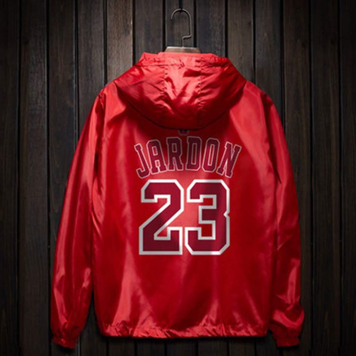 CHERSH Felpa con Cappuccio da Uomo Chicago Bulls Basketball ...