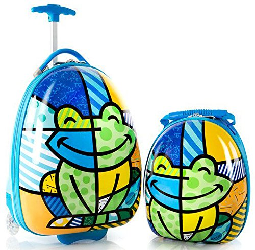 heys-america-britto-egg-shape-luggage-with-backpack-multi-britto-frog