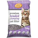 Feline First Premium Beaded Clumping Cat Litter 14 kg