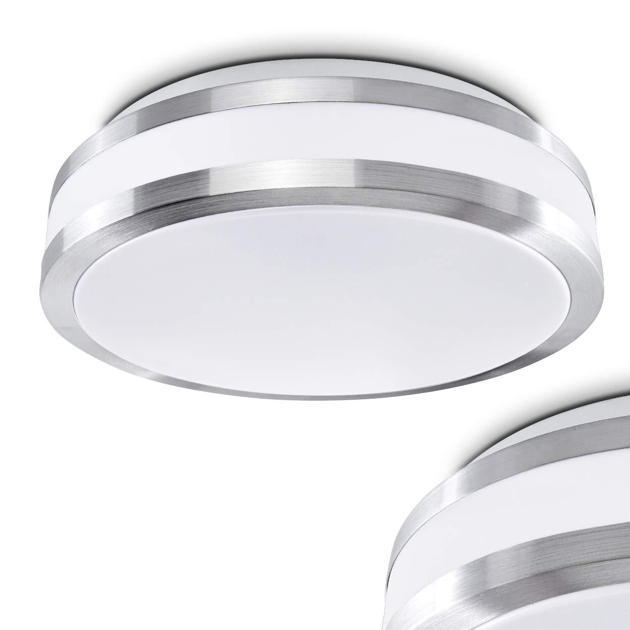 LED Plafoniera Design Moderno Forma Rotonda Sora 12 Watt [Classe di efficienza energetica A] Hofstein H166056