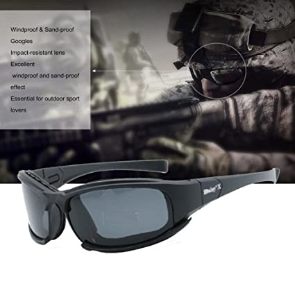 a2a2935f30 Tactical Eyewear Mens X7 Polarized Sunglasses Motorcycle Cycling Goggles  Outdoor Children s Safety Glasses Protective Eye Protection